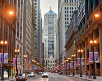 Chicago Board of Trade Building Royalty Free Stock Images