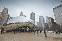 Chicago-Bohne stockfotografie