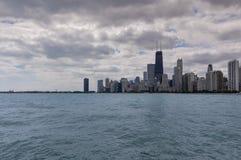Chicago bording the Lake Michigan, Illinois, USA Royalty Free Stock Photography