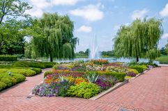 Chicago Botanic Garden Royalty Free Stock Image
