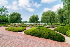 Chicago Botanic Garden Royalty Free Stock Photos
