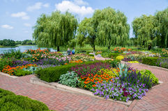 Chicago Botanic Garden Stock Photography