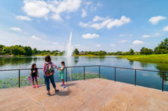 Chicago Botanic Garden stock images