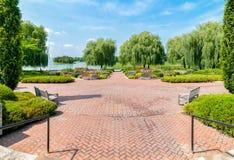 Chicago Botanic Garden, Illinois, USA Royalty Free Stock Photo