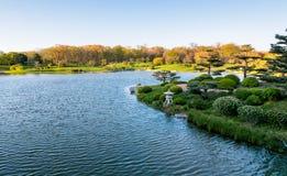 Chicago Botanic Garden. Japanese gardens into the chicago botanic garden Stock Image