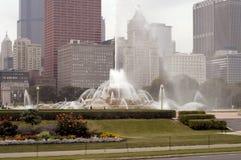 Chicago, Buckingham Brunnen Lizenzfreies Stockfoto
