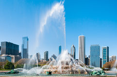 Chicago Buckingham Memorial Fountain Stock Image