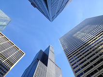 Chicago buildings royalty free stock photography