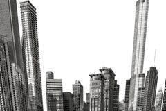Chicago buildings Stock Photo