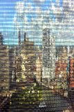 Chicago buildings reflection Royalty Free Stock Photography