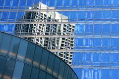 Chicago buildings reflection Stock Image