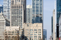 Chicago buildings Stock Images
