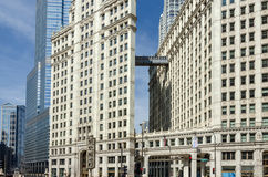 Chicago buildings Royalty Free Stock Photo