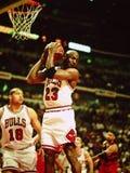 Μάικλ Τζόρνταν Chicago Bulls Στοκ Εικόνες