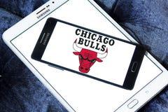 Chicago Bulls basketball team logo Stock Image