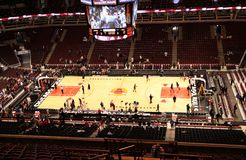 Chicago Bulls United Center Sports Arena Royalty Free Stock Image
