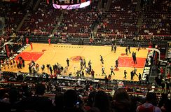 Chicago Bulls United Center Sports Arena Royalty Free Stock Images