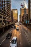 Chicago busy life Royalty Free Stock Photo