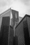 Chicago BW Royalty Free Stock Photo