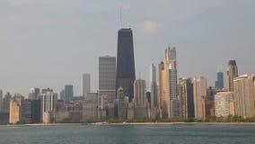 Chicago céntrica con John Hancock Center metrajes