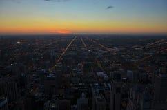 Chicago - côté Ouest Images stock