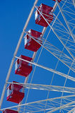 Chicago: cabins of Ferris Wheel at Navy Pier on September 22, 2014 Stock Image