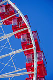 Chicago: cabins of Ferris Wheel at Navy Pier on September 22, 2014 Royalty Free Stock Photos