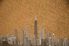 Chicago canevas Royalty Free Stock Photo