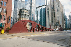 Chicago. IL - CIRCA MARCH, 2016:  downtown in the daytime.  is the third most populous city in the United States Stock Photos