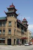 Chicago Chinatown foto de archivo libre de regalías