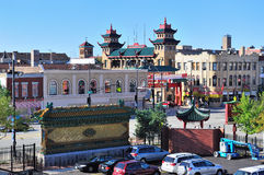 Chicago Chinatown Immagine Stock