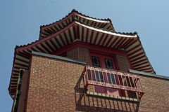 Chicago Chinatown Architecture Royalty Free Stock Images