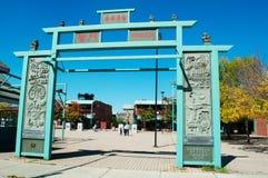 Chicago: Chinatown el 23 de septiembre de 2014 fotografía de archivo libre de regalías