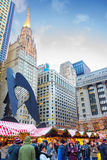Chicago Christmas Market Royalty Free Stock Image
