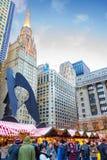 Chicago Christmas Market Royalty Free Stock Image