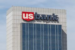 Chicago - Circa May 2018: U.S. Bank and Loan Branch. US Bank is ranked the 5th largest bank in the United States I. U.S. Bank and Loan Branch. US Bank is ranked Royalty Free Stock Image
