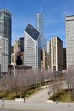 chicago cithsikt Arkivbilder