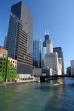 Chicago city. View, IL, USA Stock Photo