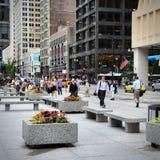 Chicago city life Stock Photo