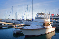 Chicago City Marina Stock Image