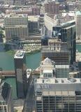 Chicago city scenery Royalty Free Stock Photo
