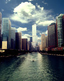 Chicago City view Royalty Free Stock Photography