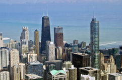 Chicago city in winter Stock Photography