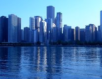 Chicago cityscape Royalty Free Stock Image