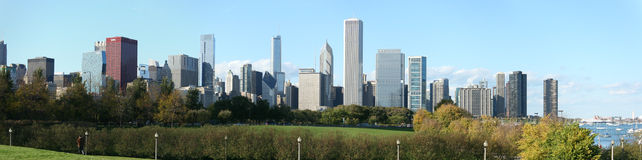 Chicago cityscape Stock Images