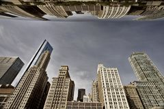 Chicago Cityscape The Bean Stock Photography