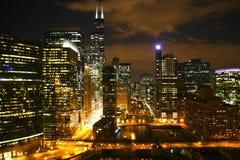 Chicago cityscape Stock Photos