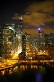 Chicago cityscape Stock Photo