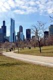 Chicago Cityview Stock Photo