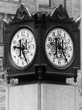 Chicago clock Royalty Free Stock Photography